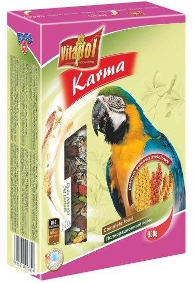 VITAPOL - Pokarm dla dużych papug 900g