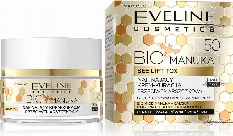 Eveline Cosmetics - BIO MANUKA BEE LIFT TOX - Napinający Krem Kuracja Przeciwzmarszczkowa - 50+