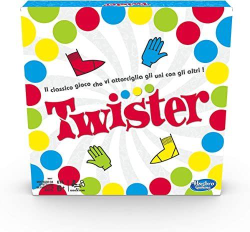 Hasbro Twister Gaming wersja 2020 w języku włoskim
