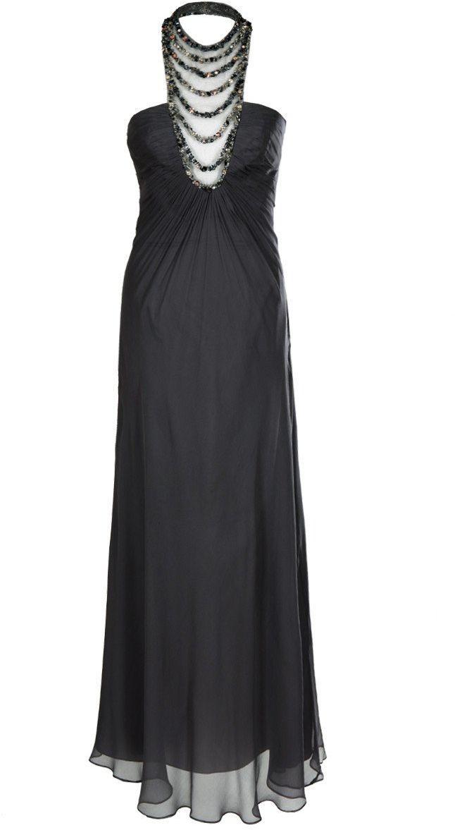 FSU728 Suknie wizytowe Sukienka SZARY