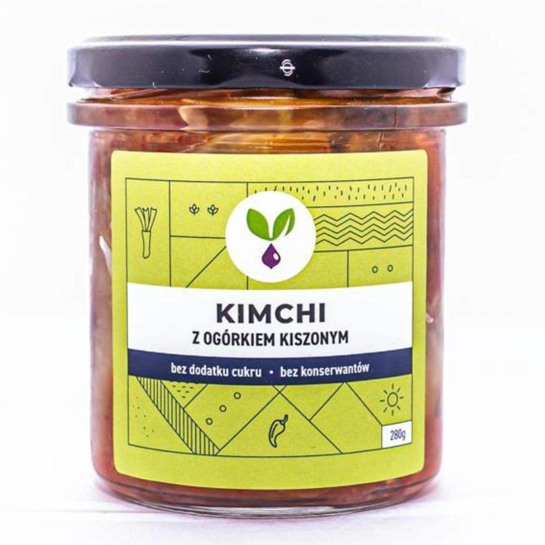 Kimchi z ogórkiem kiszonym 280g