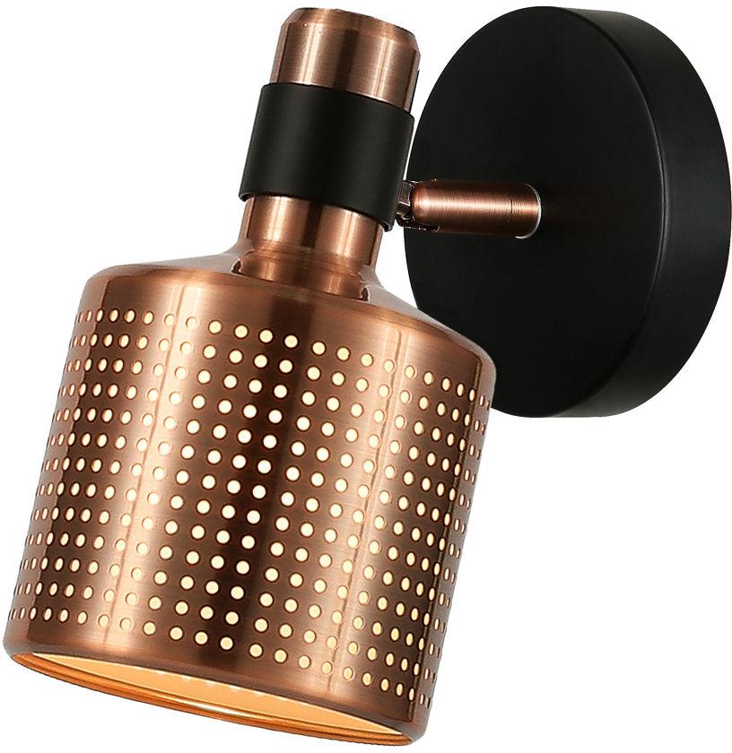 Italux Restenza WL-2439-1-COP kinkiet lampa ścienna nowoczesny aluminium stal miedziany IP20 E27 1x40W 12cm