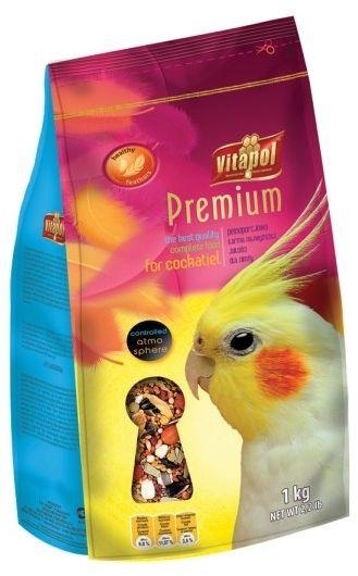 VITAPOL - Premium pokarm dla papugi nimfy 1kg