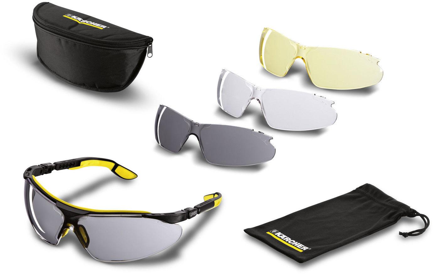 Okulary ochronne Karcher - zestaw z trzema szybkami