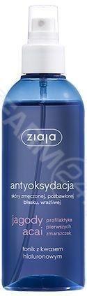 Ziaja jagody acai Tonik z kwasem hialuronowym 200ml