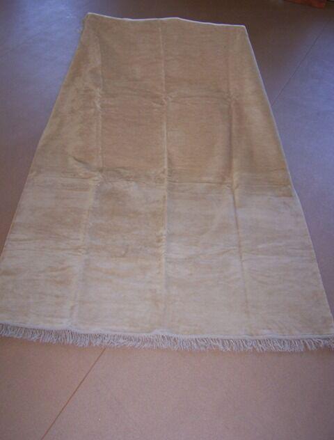 Koc bawełniany akrylowy 150x200 0293/6 beżowy narzuta pled