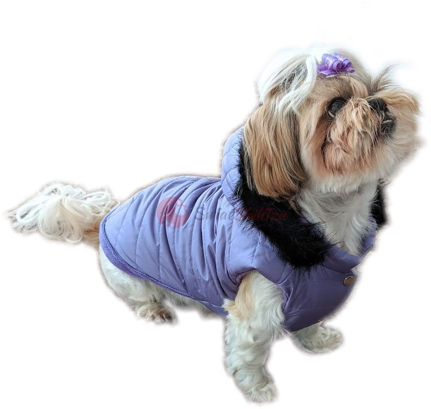 Ręcznie szyta kurtka exclusive fioletowa