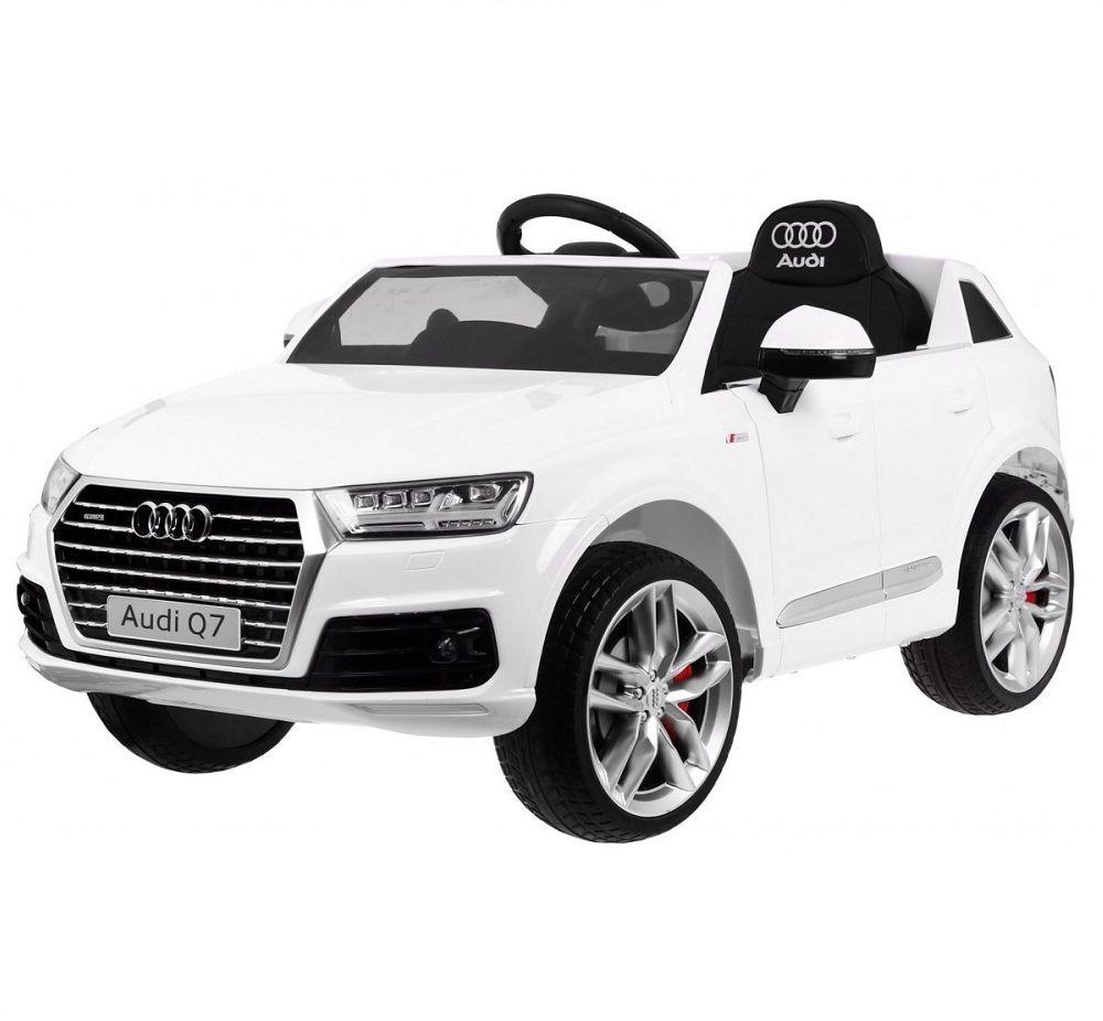 Pojazd Ramiz Samochód Audi Q7 2.4G New Model biały