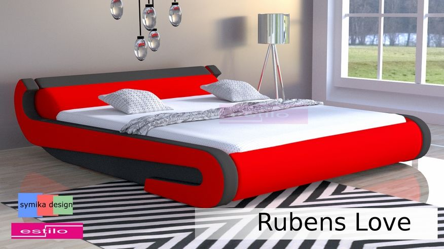 Łóżko tapicerowane Rubens Love