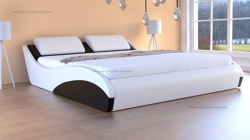 Łóżko Stilo-2 Premium z pojemnikiem i materacem