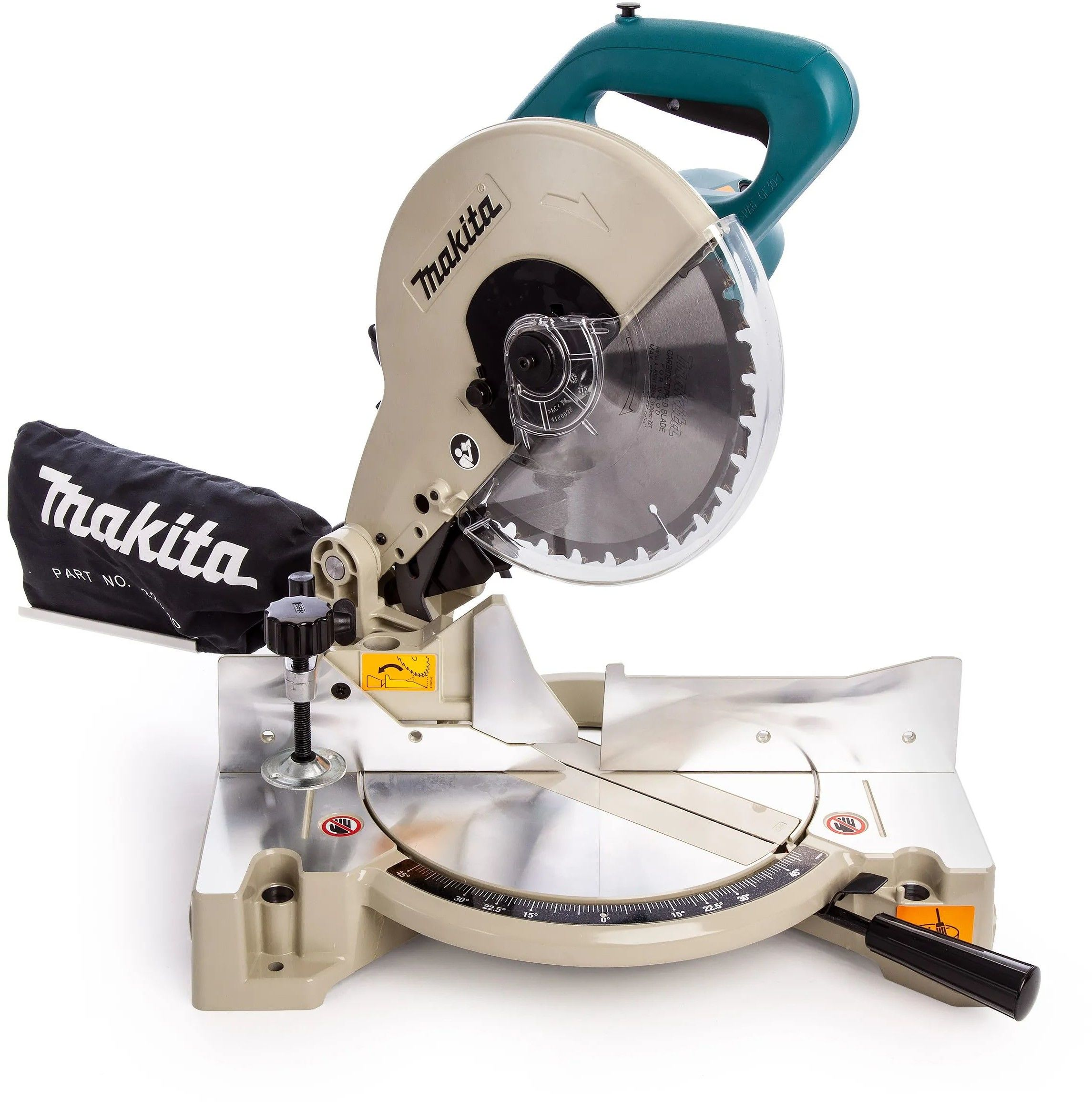 pilarka tarczowa/ukośnica 260/30mm, 1650W, Makita [LS1040N] + tarcza tnąca 255mm