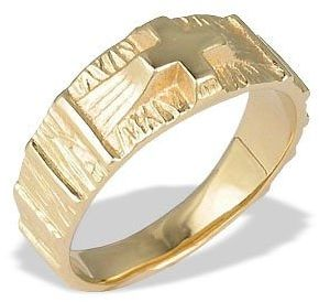 Sygnet ze złota -różaniec jp-35z
