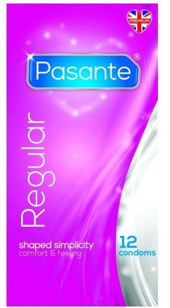 Anatomiczne prezerwatywy pasante 12 sztuk regular