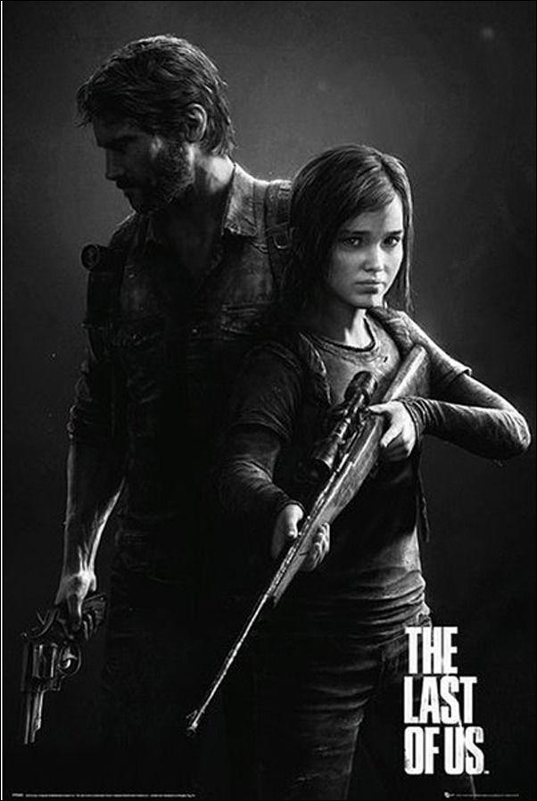 The last of us bohaterowie - plakat