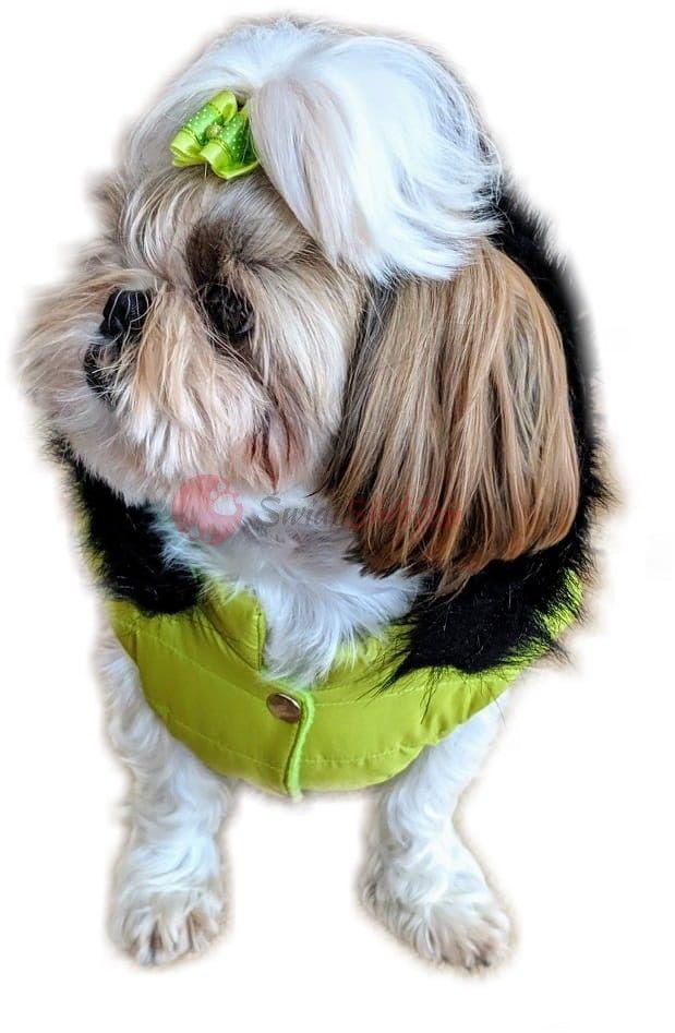 Ręcznie szyta kurtka exclusive neo zielona