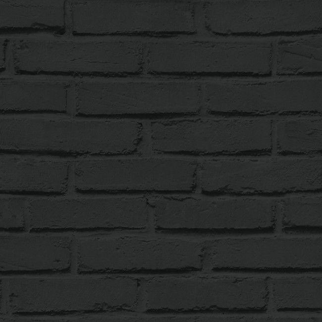 Tapeta winylowa na flizelinie Luynes czarna