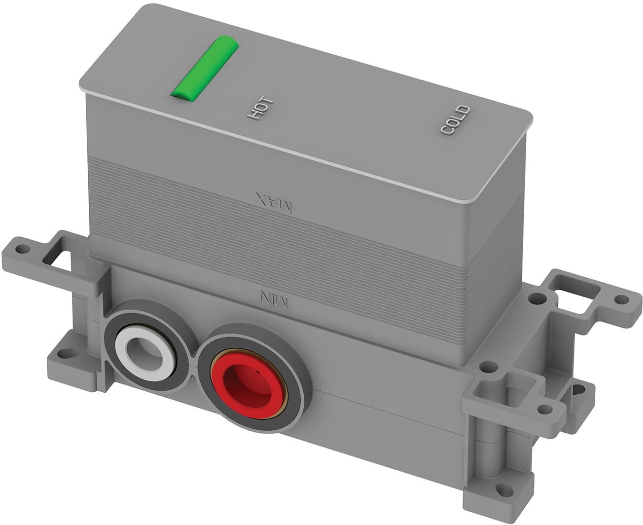 Omnires Element podtynkowy termostatycznej baterii 2-wyjściowej Y1236/KROCR, Y1236ROCR, Y1236ROBL, Y1236ROGL BOXTE2F