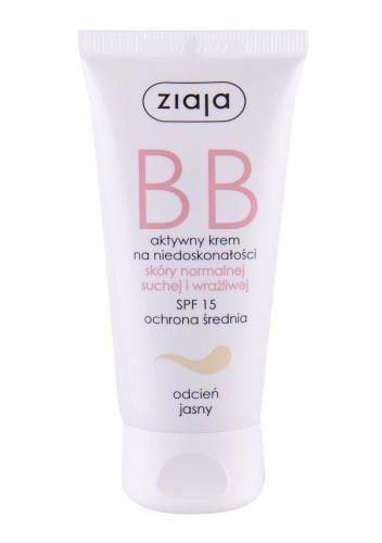 Ziaja BB Cream Normal and Dry Skin SPF15 krem bb 50 ml dla kobiet Light