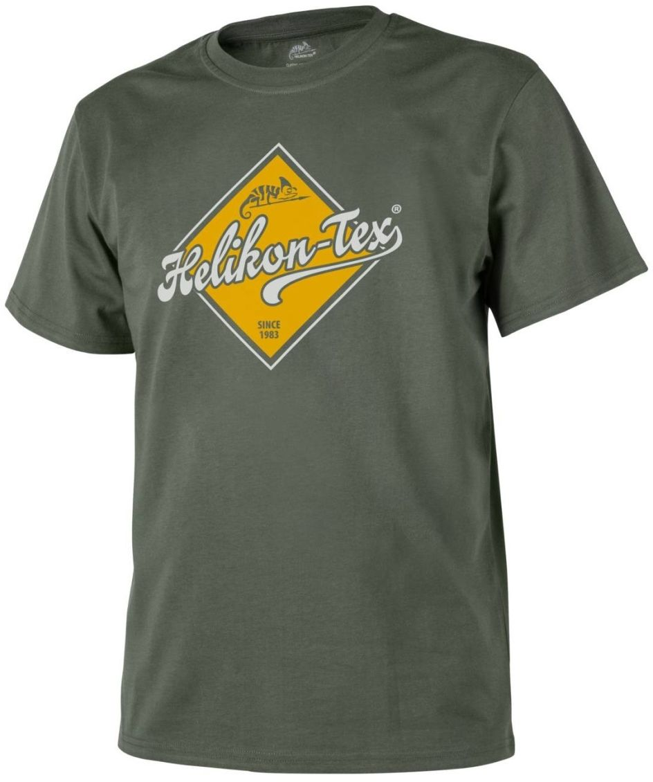 "Koszulka T-shirt Helikon ""Helikon-Tex Road Sign"" Olive Green (TS-HRS-CO-02) H"