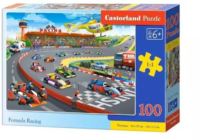 Puzzle 100 Racing CASTOR - Castorland