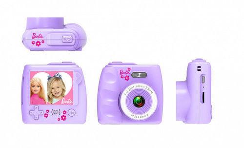 Cyfrowy aparat fotograficzny niebieski Barbie