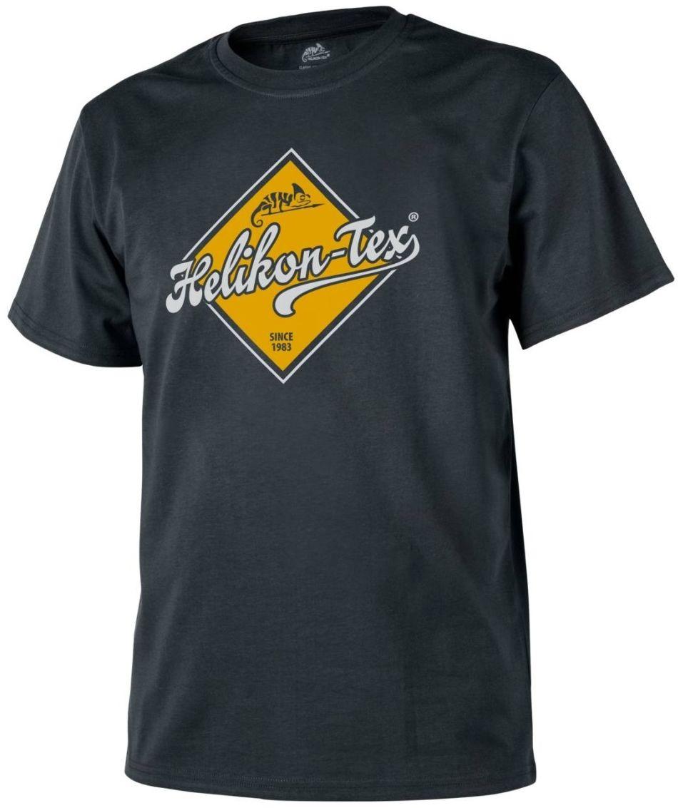 "Koszulka T-shirt Helikon ""Helikon-Tex Road Sign"" Black (TS-HRS-CO-01) H"