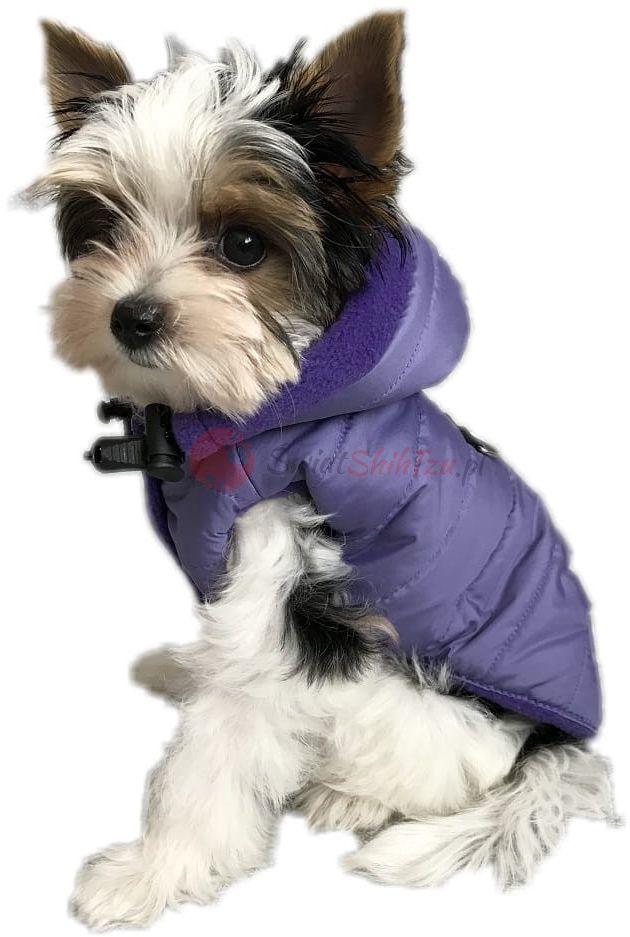 Ręcznie szyta kurtka sportowa fioletowa