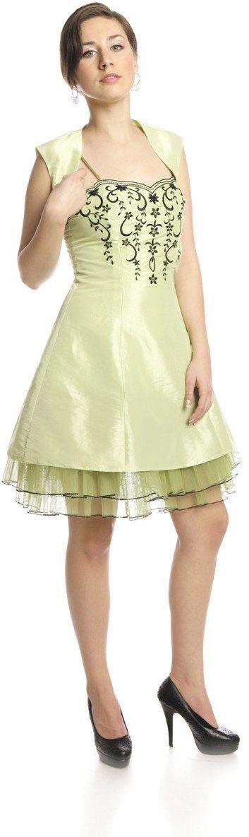 FSU731 Suknie wizytowe Sukienka ZIELONY