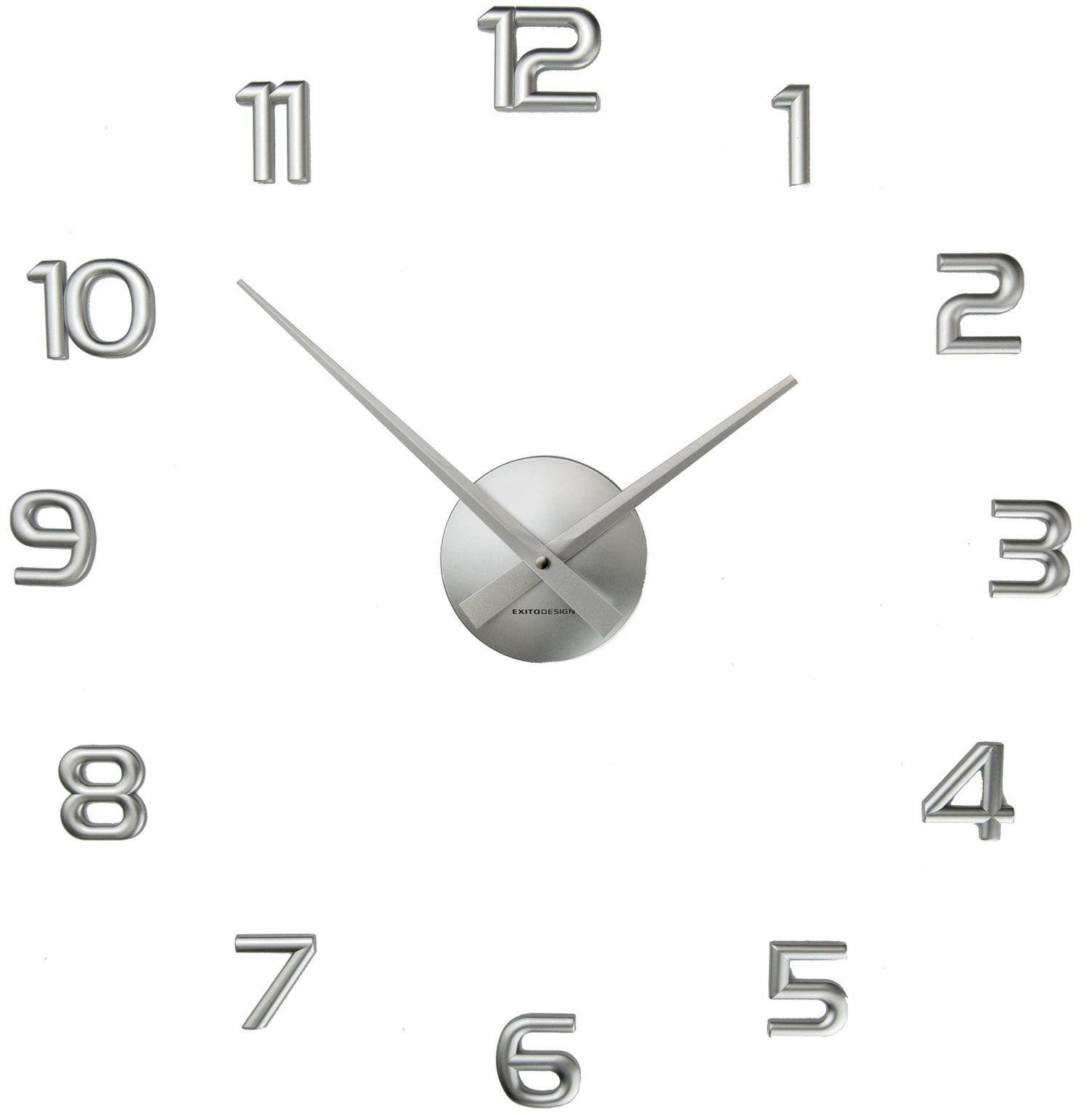 Zegar ścienny ExitoDesign HS-732S naklejany na ścianę, szybę...