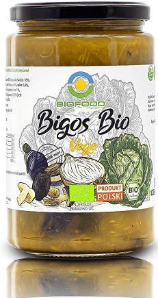 Bigos wegański bezglutenowy bio 740 g - bio food