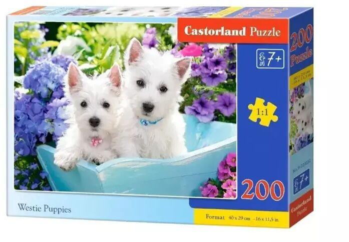 Puzzle 200 Westie Puppies CASTOR