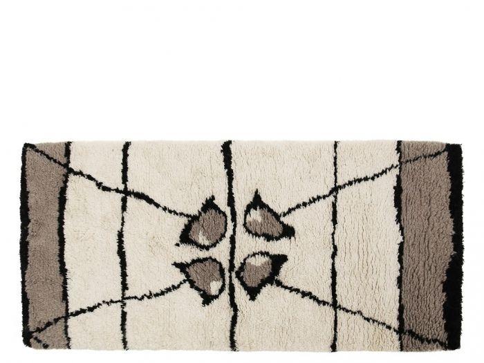 A Simple Mess BAST Chodnik - Dywan 90x180 cm Eggshell