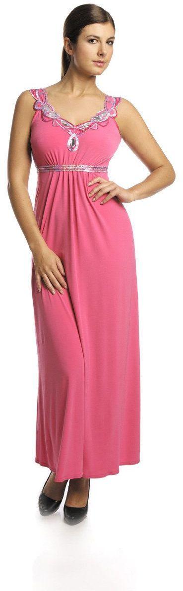 FSU732 Suknie wizytowe Sukienka AMARANT JASNY