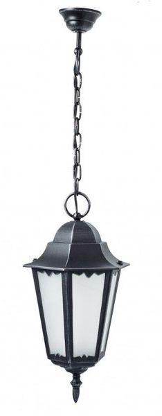 Lampa zewnętrzna aluminiowa wisząca Retro Classic II K 1018/1/D H srebrny