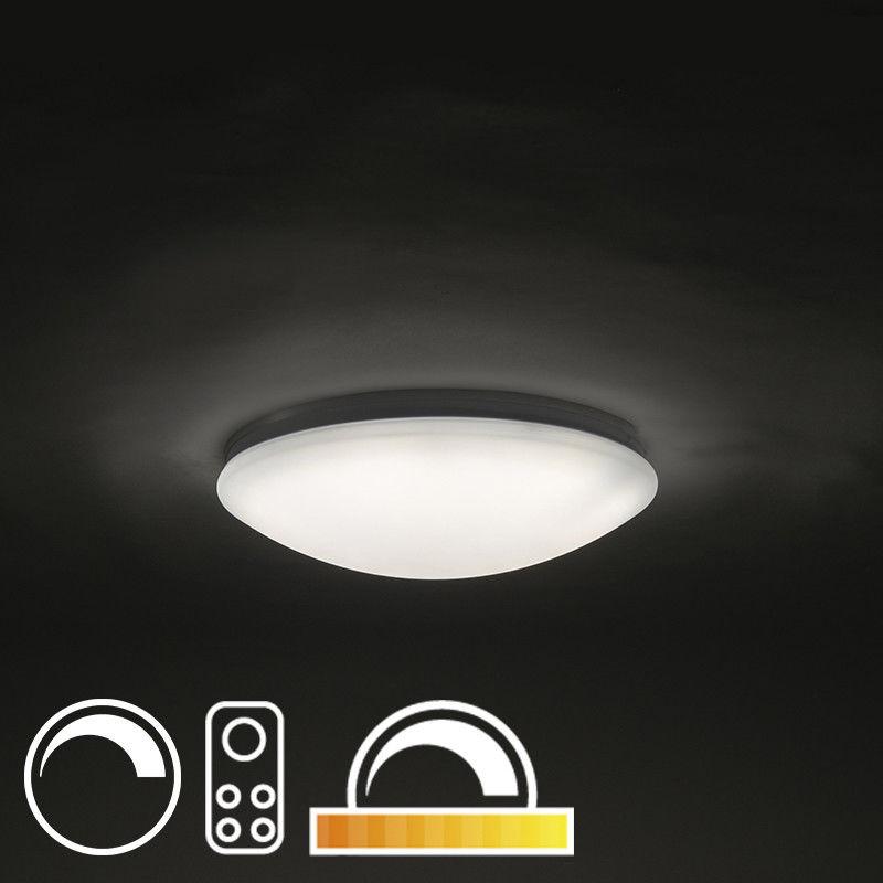 QAZQA Plafon LED 40cm z pilotem - Extrema