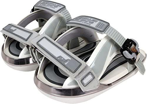 RS1 Nakładki na wrotki Pocket Roller do butów szare białe / szare 38,5-42