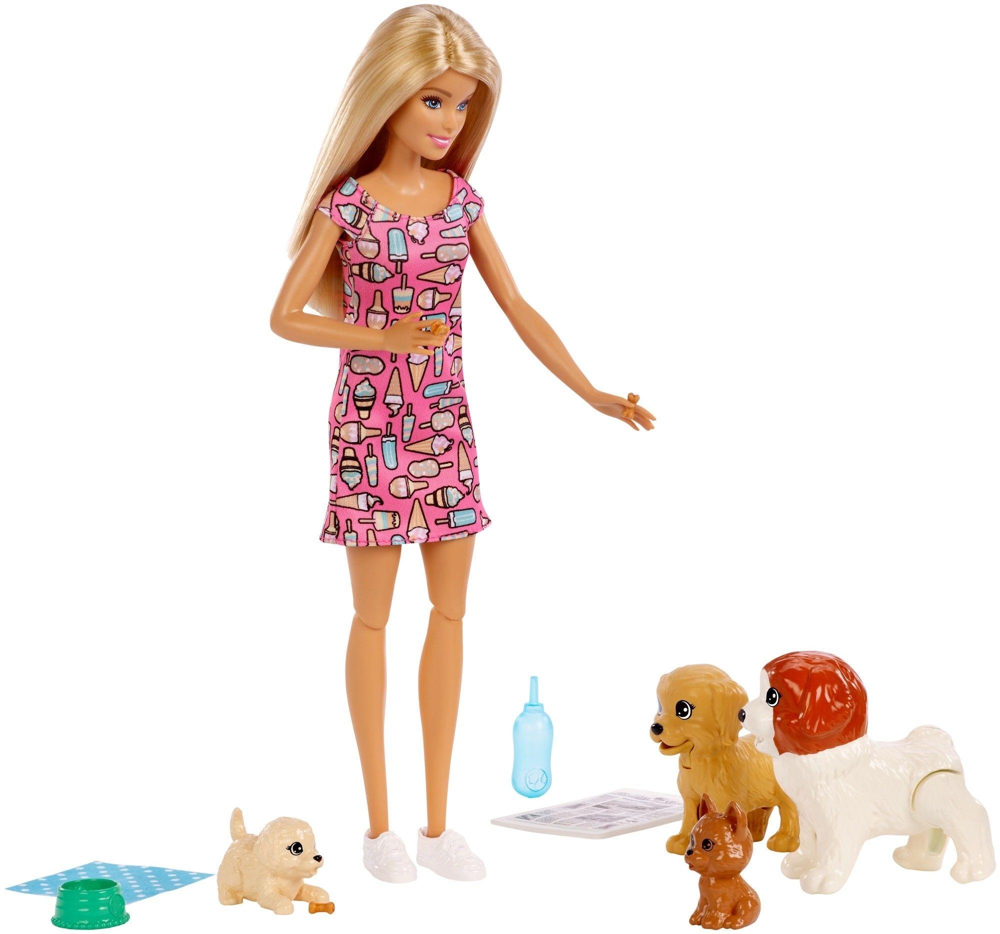 Barbie Opiekunka piesków FXH08