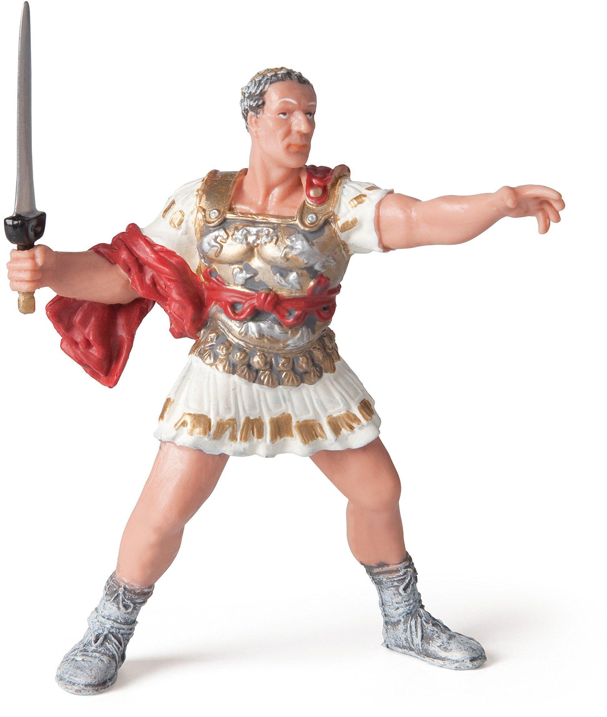 Papo 39804 Caesar historyczne figurki, wielokolorowe