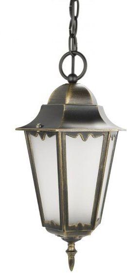 Lampa zewnętrzna aluminiowa wisząca Retro Classic II K 1018/1/D H mosiądz