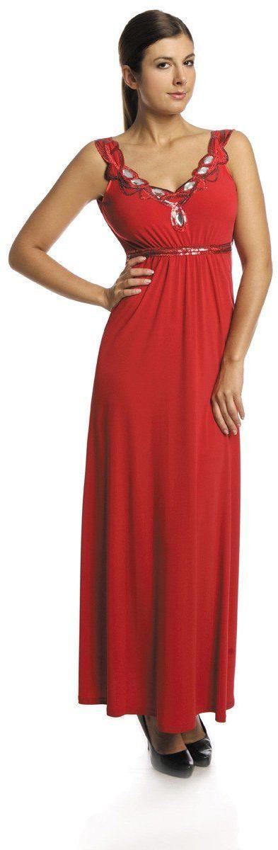 FSU732 Suknie wizytowe Sukienka CZERWONY MOCNY