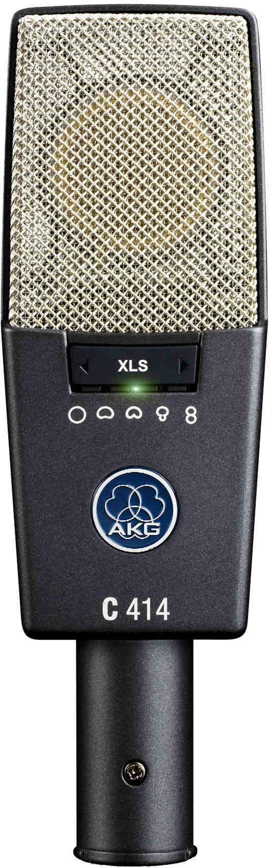 AKG C414 XLS - mikrofon pojemnościowy