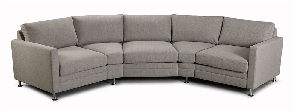 Sofa, kanapa Stockholm Curved 4+
