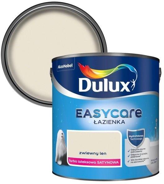 Farba Dulux EasyCare Łazienka zwiewny len 2,5 l