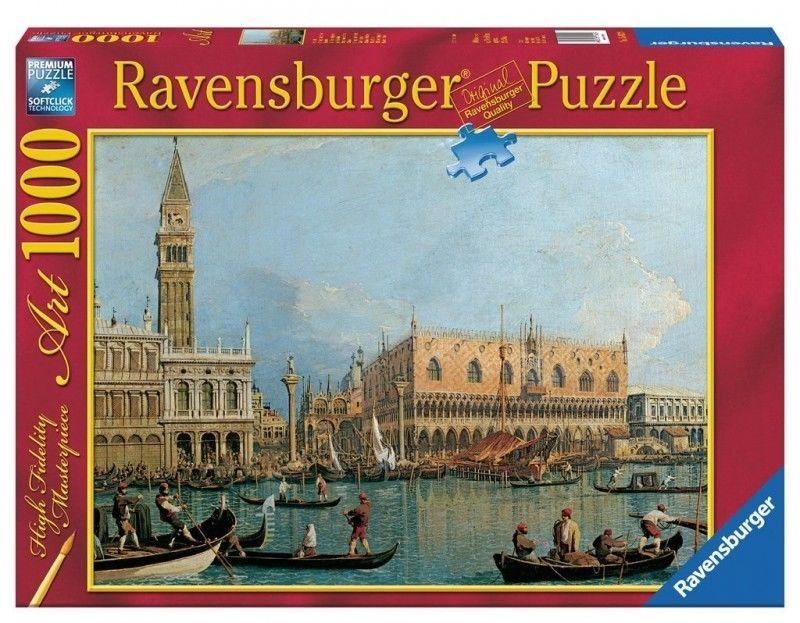 Puzzle Ravensburger 1000 - Canaletto - Pałac Ducale, Palace Ducale