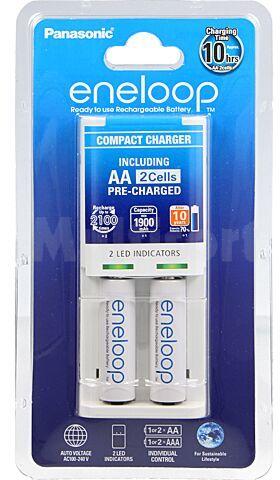 Ładowarka PANASONIC do akumulatorów Ni-MH Rozmiar AA, AAA, R03,R6