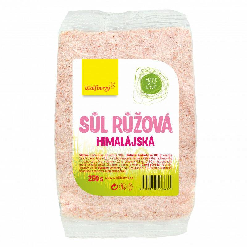 Wolfberry Różowa sól himalajska 250 g