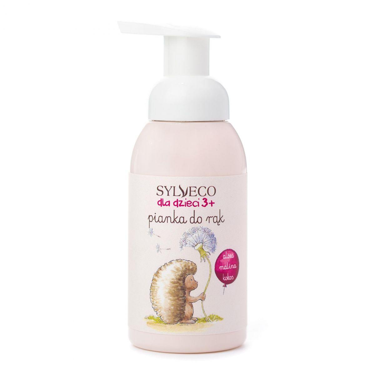 Pianka do mycia rąk dla dzieci - Malina - 290ml - Sylveco