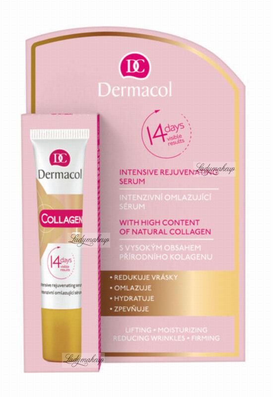 Dermacol - Collagen + Intensive Rejuvenating Serum - Odmładzające kolagenowe serum do twarzy - 12 ml
