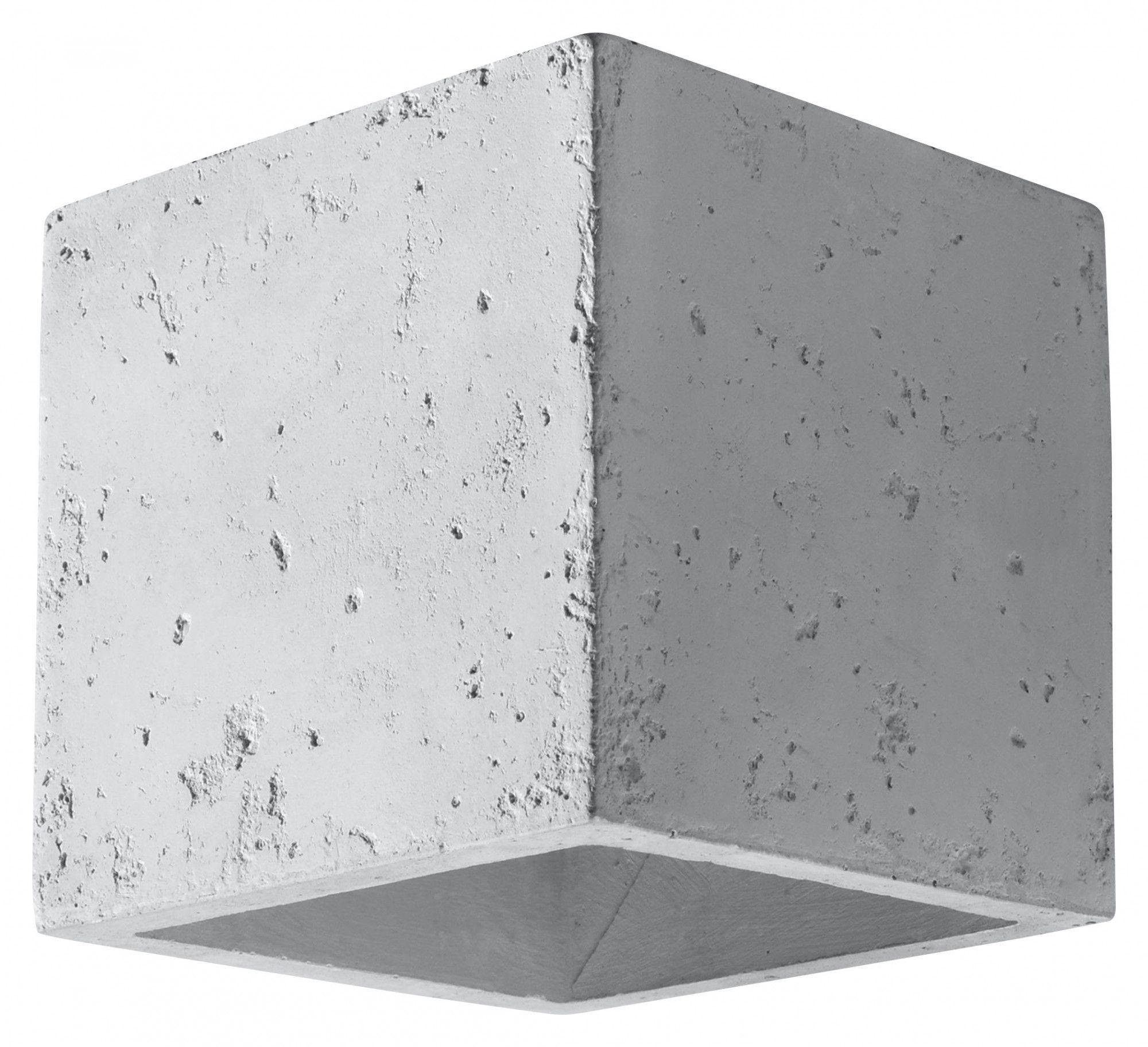 Loftowy kinkiet betonowy E717-Quas