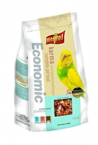 VITAPOL - Pokarm dla papużki falistej economic 1200g